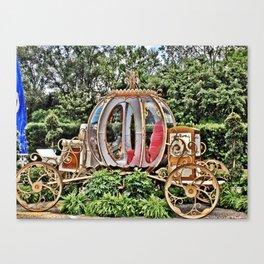 Disney World Cinderella Horse & Carriage Canvas Print