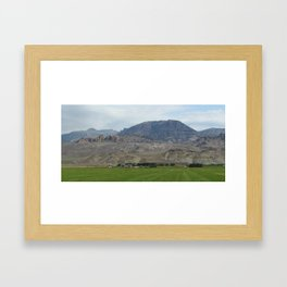 Journey to the Grand Tetons Framed Art Print