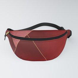 Crimson Tones Fanny Pack