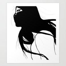 AS NODT // BLEACH Art Print