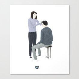 Haircut Canvas Print