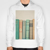 literary Hoodies featuring Literary Gems I by Laura Ruth
