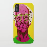 larry david iPhone & iPod Cases featuring Larry David 3 by Alyssa Underwood Contemporary Art