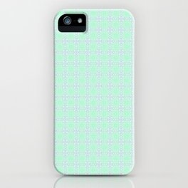 Mint Green Abstract II iPhone Case