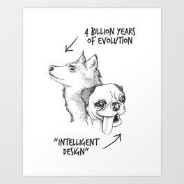 Intelligent Design Art Print