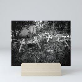 Derelict Crosses Mini Art Print