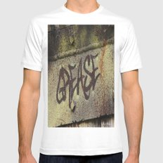 Grease MEDIUM Mens Fitted Tee White