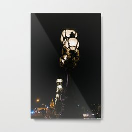Parisian Lights II Metal Print