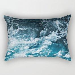 Tumultuous Seas Rectangular Pillow