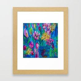 A Dreamer's Garden Framed Art Print