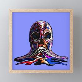 FACEMELT Framed Mini Art Print