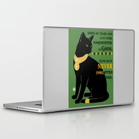 egyptian Laptop & iPad Skins featuring Egyptian Cat by SwanniePhotoArt