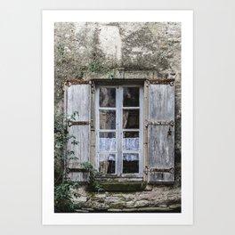 Old Window Art Print