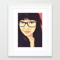 geek Framed Art Prints featuring Geek by FalcaoLucas