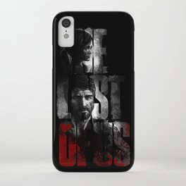 The Last of Us - black blood edition iPhone Case