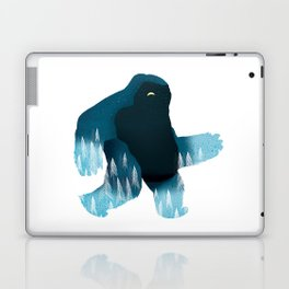 Yeti at Night Laptop & iPad Skin