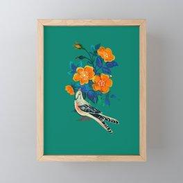 Autumnal Rose Framed Mini Art Print