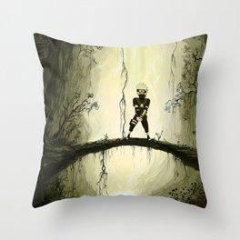 hatake kakasih Throw Pillow