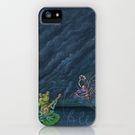 Frog & Fly: By Bradley Rabkin Golden iPhone Case