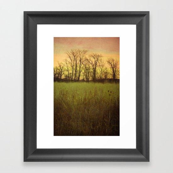Morningtide - When Night is Left Behind Framed Art Print