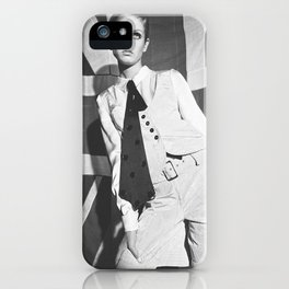 Old British Top Model iPhone Case