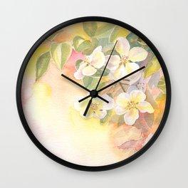 Spring sunrise Wall Clock