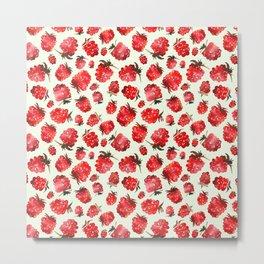 Raspberry vibes Metal Print