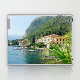 Beautiful Scenery in Menaggio Lake Como Italy Laptop & iPad Skin