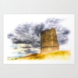 Hadleigh Castle Art Art Print