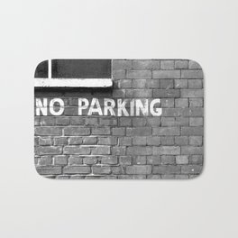 No parking Bath Mat