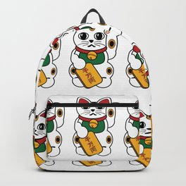 Lucky Fortune Cats Backpack