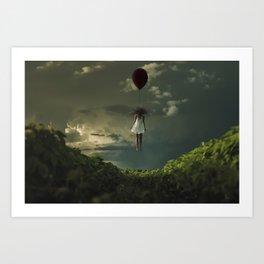 levantar por levitación Art Print