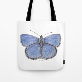 Adonis Blue Butterfly Tote Bag