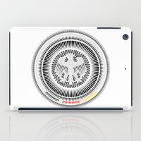 germany iPad Cases featuring Germany Crest by George Williams