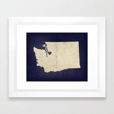 Seattle, Washington Framed Art Print