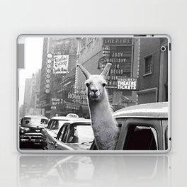 New York Llama Laptop & iPad Skin