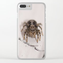 Stalking prey Clear iPhone Case