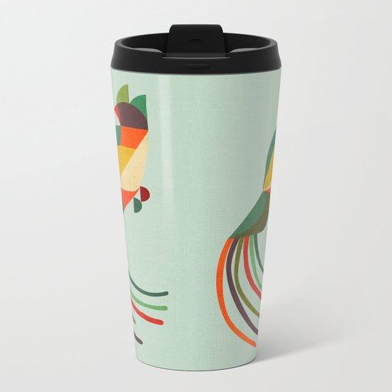 Bird Metal Travel Mug