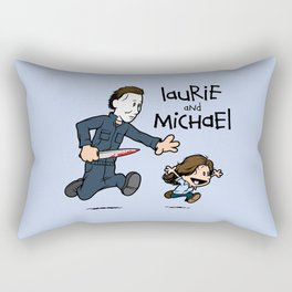 Laurie and Michael Rectangular Pillow