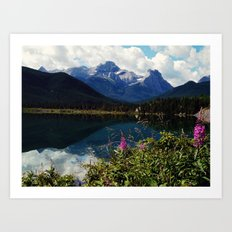 canadian wilderness Art Print