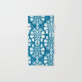 Blue and White Batik  Hand & Bath Towel