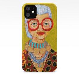 IRIS Apfel New York Fashion Icon iPhone Case