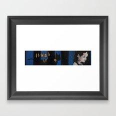 cheshire. Framed Art Print