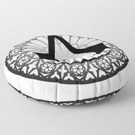 Assassin's Creed Logo Notre Dame Floor Pillow