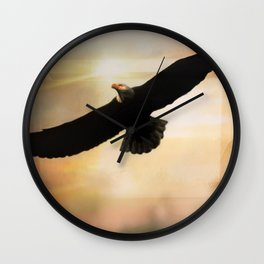Soar High And Free Wall Clock