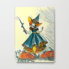 Bewitching Metal Print