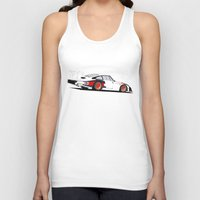 moby dick Tank Tops featuring Moby Dick by Arch Duke Maxyenko
