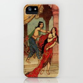 The ordeal of Queen Draupadi iPhone Case
