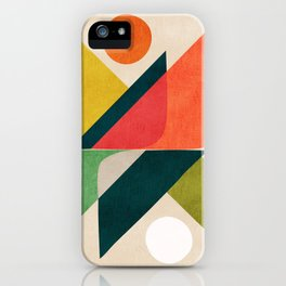 Reflection (of time and space) iPhone Case