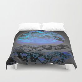 Neither Up Nor Down Duvet Cover